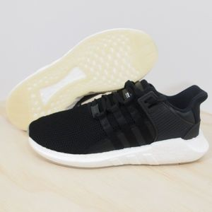 Mens Adidas EQT Support 93/17 Boost Black New